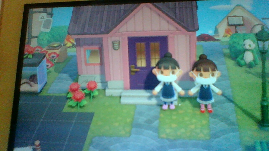 Me and my sister copied each other's  outfits and hairstyles.