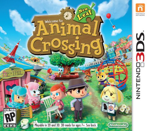 I don't have Animal Crossing:New Horizons.Instead I have Animal Crossing:New Leaf,from 2016.It's sad...