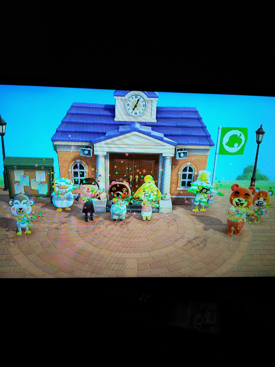 Hi, im new here lol and I was looking through my switch, and I found my Town hall Ceremony <3 Ft....