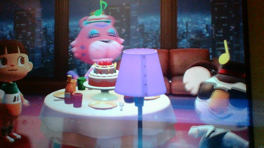Claudia's birthday in Animal crossing  my second post