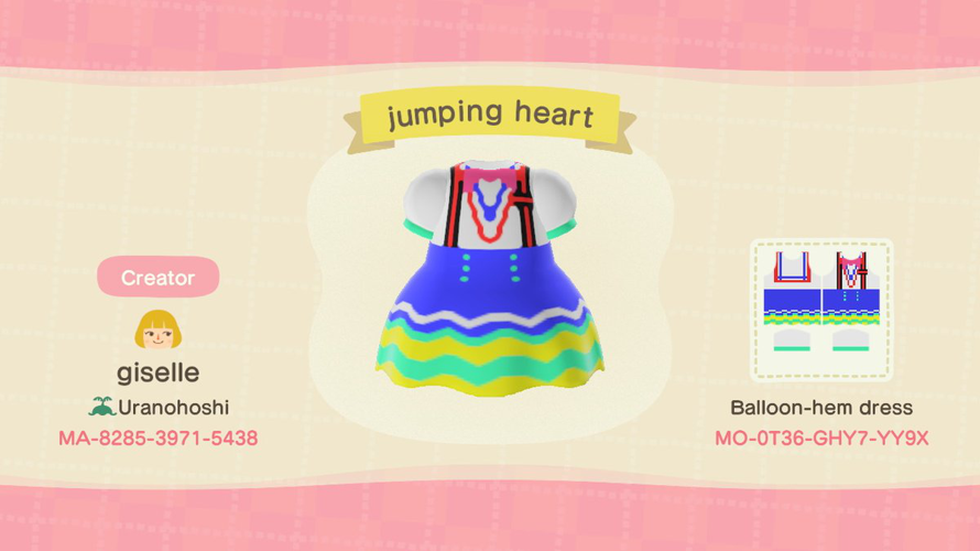 hi!! this is my jumping heart dress i made when i got the pro design editor. feel free to use